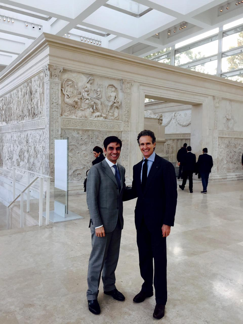 Alessandro Benetton, Founding Managing Partner of 21 Invest with Fabrizio Chines, Chairman and CEO of SIFI